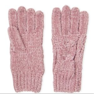 🌺4 for $25🌺Cable Knit Gloves-Pink-Cejon